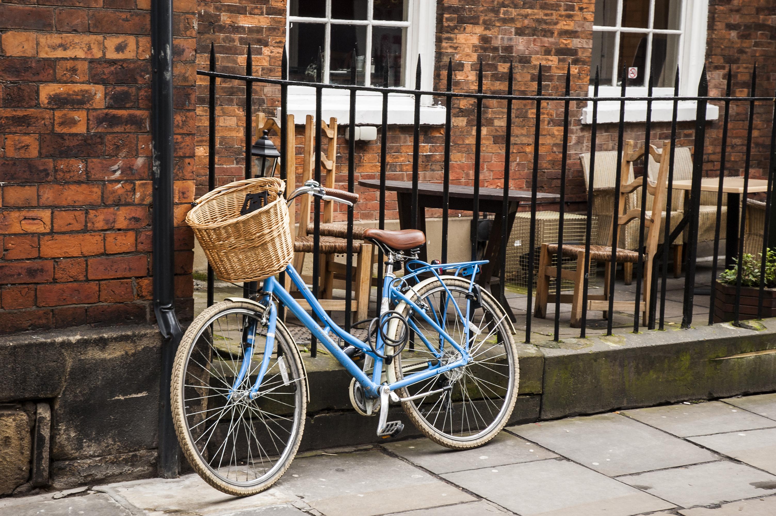 Bike in York